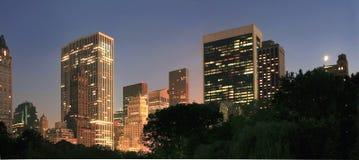 Πόλη της Νέας Υόρκης από το Σέντραλ Παρκ στοκ εικόνες με δικαίωμα ελεύθερης χρήσης