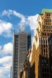 Πόλη της Νέας Υόρκης/ΗΠΑ - 13 Ιουλίου 2018: New York Times που χτίζουν την άποψη Στοκ Φωτογραφίες