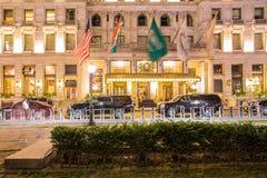Πόλη της Νέας Υόρκης ξενοδοχείων Plaza Στοκ εικόνα με δικαίωμα ελεύθερης χρήσης