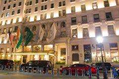 Πόλη της Νέας Υόρκης ξενοδοχείων Plaza Στοκ εικόνες με δικαίωμα ελεύθερης χρήσης