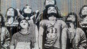 Πόλη της Νέας Υόρκης στην ουσία του: η τέχνη οδών στοκ εικόνες