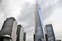Πόλη της Νέας Υόρκης στη Νέα Υόρκη, ΗΠΑ 19 Ιουνίου 2017 - μια οικοδόμηση του World Trade Center Στοκ φωτογραφία με δικαίωμα ελεύθερης χρήσης