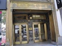 Πόλη της Νέας Υόρκης, στις 2 Ιουλίου: Ιστορικές λεπτομέρειες οικοδόμησης στη Πέμπτη Λεωφόρος στο Μανχάταν από πόλη της Νέας Υόρκη Στοκ Φωτογραφίες