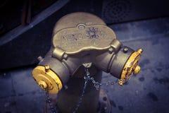 Πόλη της Νέας Υόρκης στομίων υδροληψίας πυρκαγιάς στοκ εικόνα με δικαίωμα ελεύθερης χρήσης