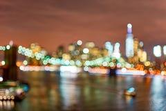Πόλη της Νέας Υόρκης Στοκ Εικόνα