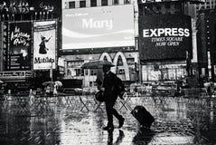 Πόλη της Νέας Υόρκης - Times Square στοκ φωτογραφία