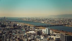 Πόλη της Οζάκα στην Ιαπωνία Στοκ εικόνες με δικαίωμα ελεύθερης χρήσης