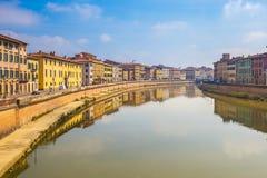 Πόλη της Πίζας στην Τοσκάνη, Ιταλία Στοκ Φωτογραφίες