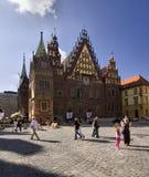 πόλη της Πολωνίας αιθουσών wroclaw Στοκ φωτογραφία με δικαίωμα ελεύθερης χρήσης