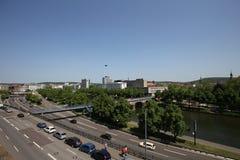Πόλη της Σάαρμπρουκεν στη Γερμανία Στοκ Εικόνα