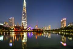 Πόλη της Σεούλ, Κορέα Στοκ φωτογραφία με δικαίωμα ελεύθερης χρήσης
