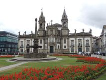 Πόλη της Braga, Πορτογαλία - μια όμορφη θέση στοκ φωτογραφία με δικαίωμα ελεύθερης χρήσης