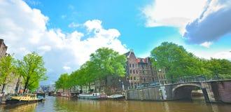 πόλη του Άμστερνταμ Στοκ εικόνα με δικαίωμα ελεύθερης χρήσης