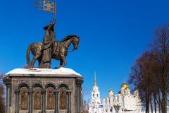Πόλη του Βλαντιμίρ, Ρωσία στοκ εικόνα με δικαίωμα ελεύθερης χρήσης