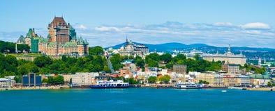Πόλη του Κεμπέκ Στοκ Εικόνες