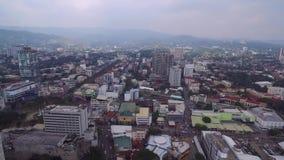 Πόλη του Κεμπού Ιδιαίτερα αστικοποιημένη πόλη στην επαρχία νησιών του Κεμπού σε κεντρικό Visayas, Φιλιππίνες φιλμ μικρού μήκους