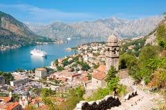 πόλη του Μαυροβουνίου kotor Στοκ Φωτογραφίες