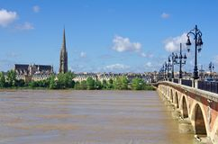 Πόλη του Μπορντώ, Gironde, Aquitaine, Γαλλία στοκ εικόνες με δικαίωμα ελεύθερης χρήσης