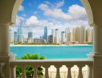 Πόλη του Ντουμπάι, Ηνωμένα Αραβικά Εμιράτα Στοκ Εικόνες
