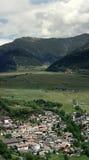 πόλη του νότιου Tirol Στοκ εικόνα με δικαίωμα ελεύθερης χρήσης