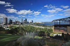 Πόλη του Περθ, δυτική Αυστραλία Στοκ φωτογραφίες με δικαίωμα ελεύθερης χρήσης