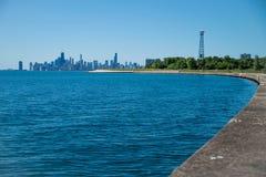 Πόλη του Σικάγου στις ΗΠΑ Στοκ φωτογραφία με δικαίωμα ελεύθερης χρήσης