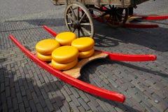 πόλη τυριών του Αλκμάαρ στοκ φωτογραφία με δικαίωμα ελεύθερης χρήσης