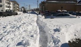 πόλη χιονοθύελλας στοκ φωτογραφία με δικαίωμα ελεύθερης χρήσης