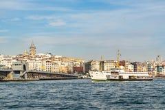 πόλη όπου οι ήπειροι συναντιούνται άποψη και εικονική παράσταση πόλης πόλεων από την Κωνσταντινούπολη στοκ εικόνες