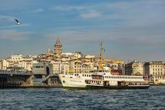 πόλη όπου οι ήπειροι συναντιούνται άποψη και εικονική παράσταση πόλης πόλεων από την Κωνσταντινούπολη στοκ φωτογραφία