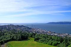 πόλη Όρεγκον astoria Στοκ Εικόνα