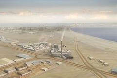 πόλη 114 φανταστική διανυσματική απεικόνιση
