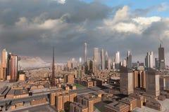 πόλη 43 φανταστική διανυσματική απεικόνιση