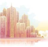 πόλη διανυσματική απεικόνιση