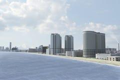 πόλη 72 φανταστική διανυσματική απεικόνιση