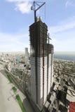 πόλη 95 φανταστική διανυσματική απεικόνιση