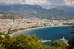 Πόλη Alanya σε Antalya, Τουρκία Στοκ φωτογραφίες με δικαίωμα ελεύθερης χρήσης