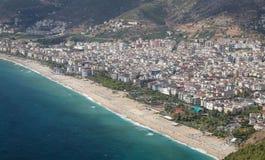 Πόλη Alanya σε Antalya, Τουρκία Στοκ εικόνα με δικαίωμα ελεύθερης χρήσης