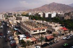 Πόλη Aqaba Στοκ φωτογραφία με δικαίωμα ελεύθερης χρήσης