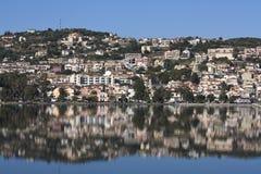 Πόλη Argostoli σε Kefalonia, Ελλάδα Στοκ εικόνα με δικαίωμα ελεύθερης χρήσης