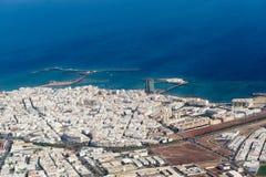 Πόλη Arrecife Στοκ εικόνα με δικαίωμα ελεύθερης χρήσης