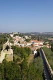 πόλη bidos που περιτοιχίζετα&iota στοκ φωτογραφία με δικαίωμα ελεύθερης χρήσης