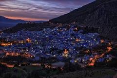 Πόλη Chefchaouen στο Μαρόκο Στοκ Εικόνες