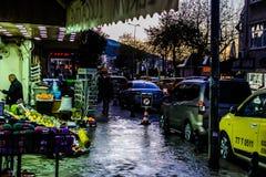 Πόλη Cinarcik στο βράδυ Στοκ εικόνα με δικαίωμα ελεύθερης χρήσης