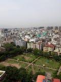 Πόλη Dhaka του μέλλοντος και σκέφτομαι ότι θα ήταν στοκ φωτογραφία με δικαίωμα ελεύθερης χρήσης