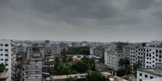 Πόλη Dhaka στοκ φωτογραφία
