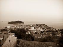 πόλη dubrovnik παλαιά Στοκ Εικόνα