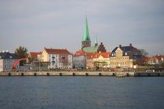 Πόλη Helsingеr μια νεφελώδη ημέρα Νοεμβρίου στοκ φωτογραφία με δικαίωμα ελεύθερης χρήσης