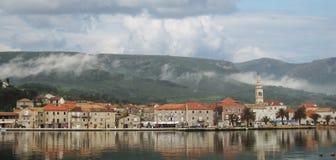 Πόλη Jelsa στοκ φωτογραφία με δικαίωμα ελεύθερης χρήσης