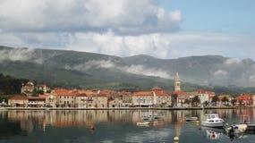 Πόλη Jelsa στοκ εικόνες με δικαίωμα ελεύθερης χρήσης